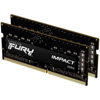 KINGSTON FURYImpact 16GB 2666MHz DDR4 CL15 SODIMM (Kit of 2)