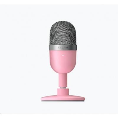 RAZER mikrofon pro streamování Seiren Mini - Quartz