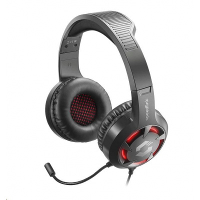 SPEED LINK sluchátka CASAD Gaming Headset, černá