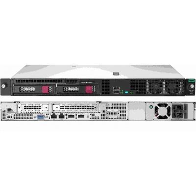 HPE PL DL20G10 E-2224 (3.4G/4C/8M/2666) 1x16G S100i SATA 2LFF 1x290Wplat FR noDVD NBD333 1U