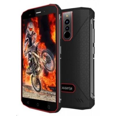 Aligator RX600 eXtremo, Dual SIM, LTE, černo-červená