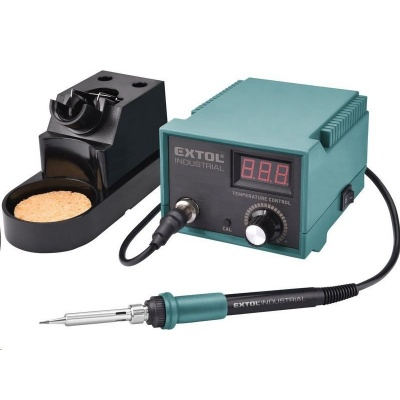 Extol Industrial (8794520) stanice pájecí s LCD a elektronickou regulací teploty a kalibrací