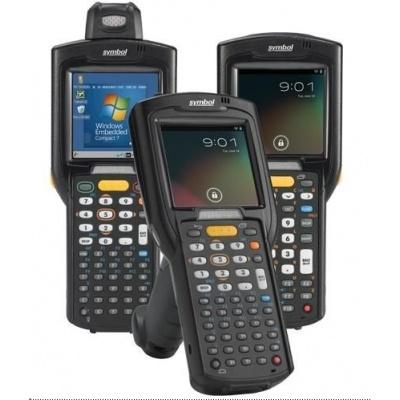 Zebra MC3200 standard, 2D, MR, BT, Wi-Fi, Gun, disp., IST, WEC 7
