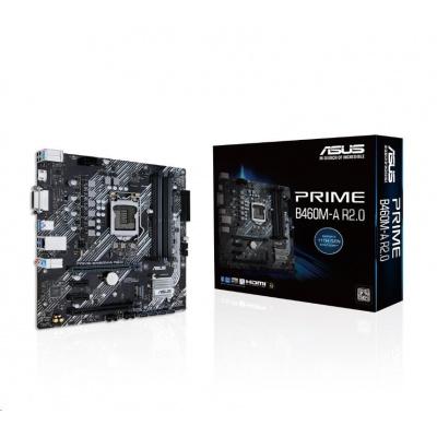 ASUS MB Sc LGA1200 PRIME B460M-A R2.0, Intel H470, 4xDDR4, 1xHDMI, 1xDVI, mATX