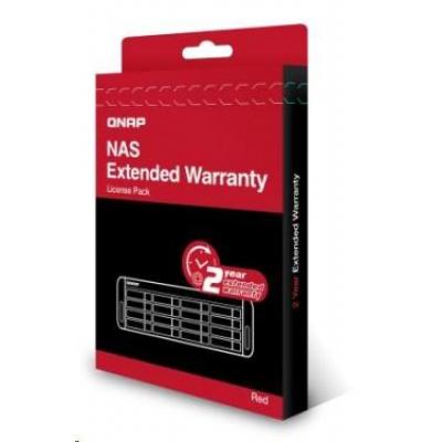 QNAP LIC-NAS-EXTW-RED-2Y-EI elektronická prodlužujicí záruka 2 roky