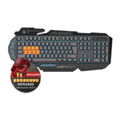 A4tech Bloody B318 podsvícená herní klávesnice, USB, CZ