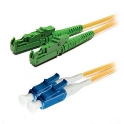 Duplexní patch kabel SM 9/125, OS2, E2000(APC)-LC(PC), LS0H, 10m
