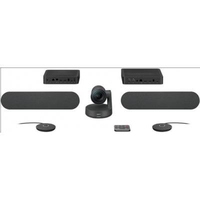 Logitech Rally PLUS Systém Premium Ultra-HD Conference Cam, konferenční systém