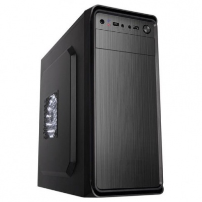 SPIRE skříň SUPREME 1628, 420W, Midi Tower, black, USB 3.0