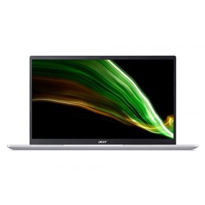 """ACER NTB Swift 3 (SF314-43-R0Y6) - Ryzen 5 5500U,14"""" FHD IPS,8GB,512SSD,Radeon™ Graphics,W10H,Stříbrná"""