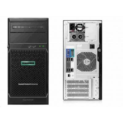 HPE PL ML30G10 E-2224 (3.4G/4C4T/8M/2666) 16G E208i-p 2x2TB/7.2k SAS 4LFF 2xGLAN Fan+Baffle NBD311