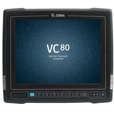 "Zebra VC80 vozíkový terminál10"",STD IN, CPU E3845, 4GB/64GBSSD, WIN 7 PRO, ENG,  USB, RS232, WLAN, konektor pro ant"