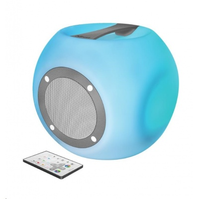 TRUST Reproduktor Lara Bluetooth Wireless Speaker with multi-colour party lights - white