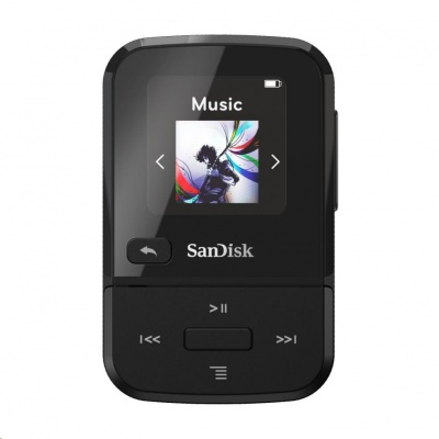 SanDisk Clip Sport Go MP3 Player 32 GB, Black
