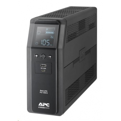 APC Back UPS Pro BR 1200VA, Sinewave, 8 Outlets, AVR, LCD interface (720W)