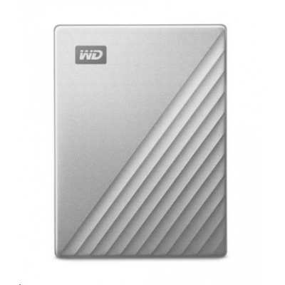 "WD My Passport ULTRA 5TB Ext. 2.5"" USB3.0 Silver for MAC USB-C"