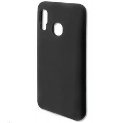4smarts silikonový kryt CUPERTINO pro Samsung Galaxy A20e (A202), černá