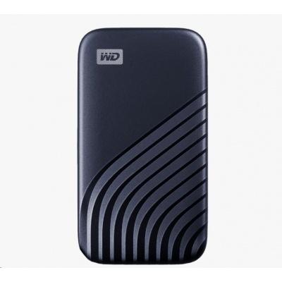 SanDisk WD My Passport SSD externí 1TB , USB-C 3.2 ,1050/1000MB/s R/W PC & Mac ,Midnight Blue