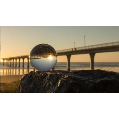 Larmor křišťálová fotografická koule, 90 mm