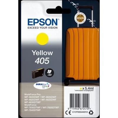 EPSON ink Singlepack Yellow 405 Durabrite Ultra