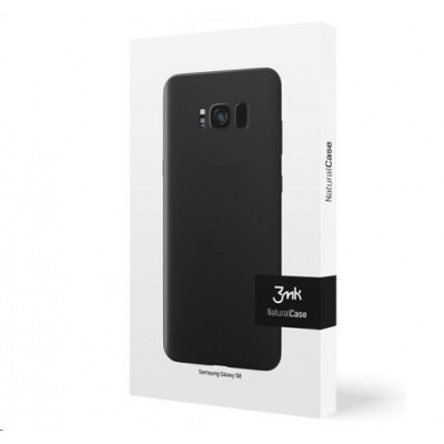 3mk ochranný kryt NaturalCase pro Samsung Galaxy S10 (SM-G973), transparentní černá
