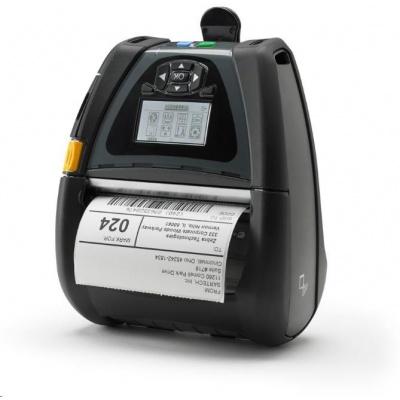 Zebra DT mobilní tiskárna QLn420, CPCL, ZPL, XML, BLTH, LAN, DT/Linered Platen