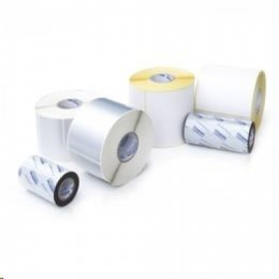 Citizen SECURE PACK, label roll, colour ribbon, resin, 45x18mm, silver