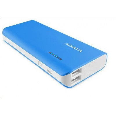 ADATA PowerBank PT100 - externí baterie pro mobil/tablet 10000mAh, modrá/bílá