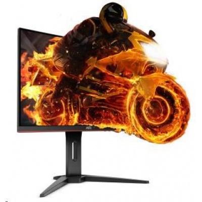"""AOC MT VA LCD  WLED 31,5"""" C32G1 - VA panel,1920x1080, 144Hz, 1ms, D-Sub, 2xHDMI, DP,  gaming, zakriveny panel"""