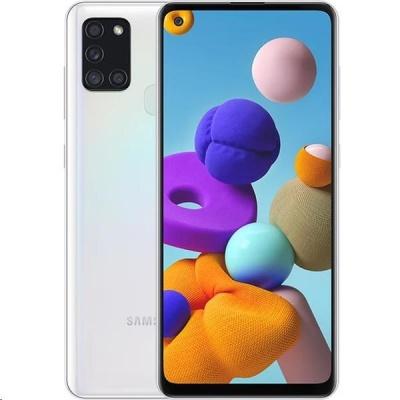 Samsung Galaxy A21s (A217), 64 GB, bílá