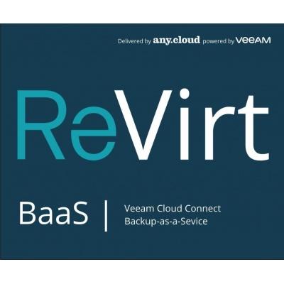 ReVirt BaaS   Veeam Cloud Connect (1VM/12M)
