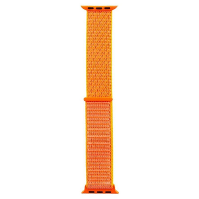 Tactical 543 Látkový Řemínek pro Apple Watch 1/2/3/4/5/6/SE 42/44mm Orange