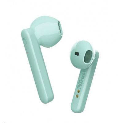 TRUST sluchátka Primo Touch Bluetooth Wireless Earphones - mint