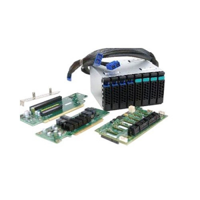 INTEL 2U Hot-swap Drive Cage Upgrade Kit with 4x NVMe SSD Support A2U44X25NVMEDK