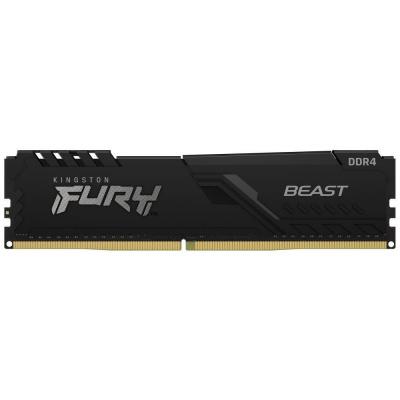 KINGSTON FURY Beast 16GB 2666MHz DDR4 CL16 DIMM 1Gx8 Black