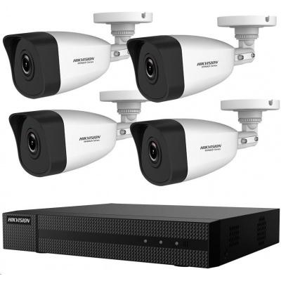 HIKVISION HiWatch HWK-N4142BH-MH, KIT, 2MP, rekordér + 4 kamery, 4 ch, 1TB HDD