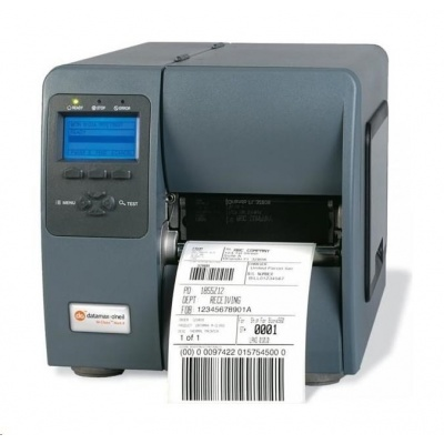 Honeywell M-4308, 12 dots/mm (300 dpi), odlepovač, rewind, display, PL-Z, PL-I, PL-B, USB, RS232, Ethernet
