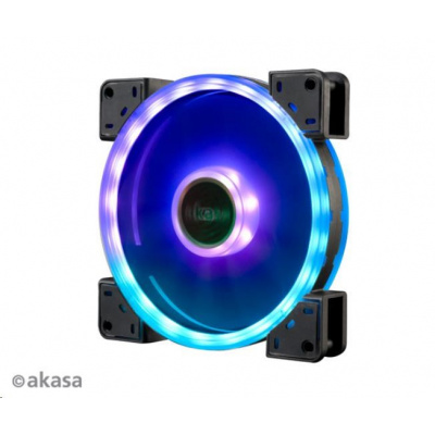 AKASA ventilátor Vegas TLY, 140x140x25mm, aRGB, Dual Sided, RGB