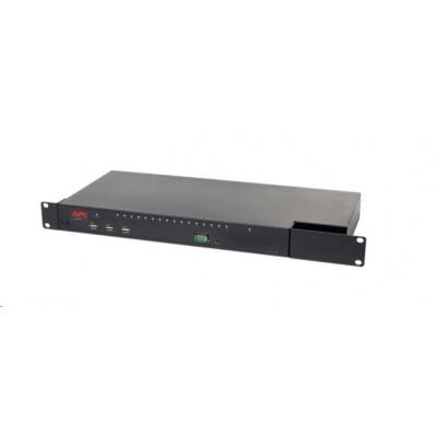 APC KVM 2G, Digital/IP, 1 Remote/1 Local User, 16 Ports with Virtual Media - FIPS 140-2