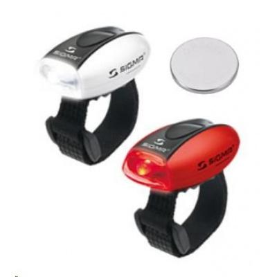 Sigma světlo na kolo Sada MICRO červená + bílá / LED-červená + bílá