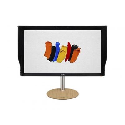 """ACER LCD ConceptD CP3271KP - 69cm (27"""") 3840x2160@144Hz IPS UHD 4K,100M:1,400cd/m2,4ms,HDMI,DP,repro,VESA,černá"""