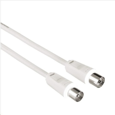 Hama anténní kabel 75dB, bílý, 1.5m