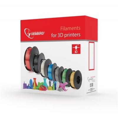 GEMBIRD Tisková struna (filament) PLA, 1,75mm, 1kg, transparentní
