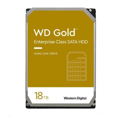 WD GOLD WD181KRYZ 18TB SATA/ 6Gb/s 512MB cache 7200 ot.