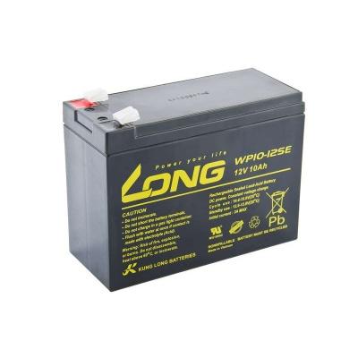 Long 12V 10Ah olověný akumulátor DeepCycle AGM F2