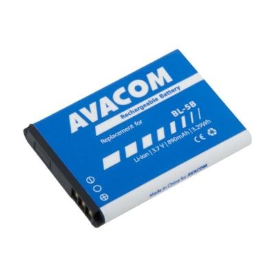 AVACOM baterie do mobilu Nokia 3220, 6070, Li-Ion 3,7V 890mAh (náhrada BL-5B)