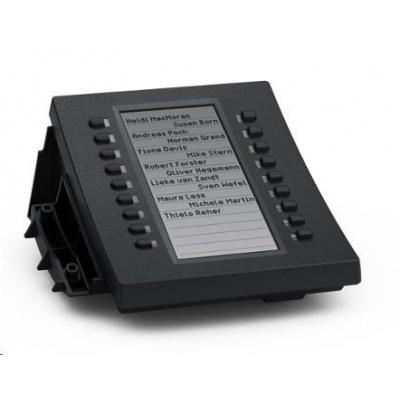 Snom rozšiřující tlačítková konzole D3, 18 kláves s LED pro D315/D345/D375