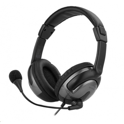 SPEED LINK sluchátka SENTO USB Headset, černá