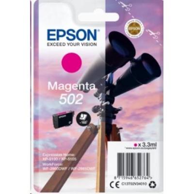 "EPSON ink bar Singlepack ""Dalekohled"" Magenta 502 Ink"
