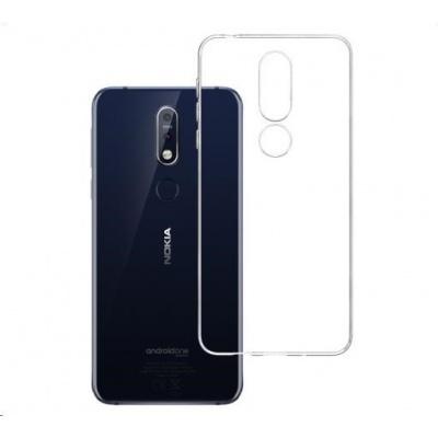 3mk ochranný kryt Clear Case pro Nokia 7.1 ,čirý